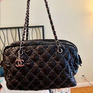 Chanel Quilted Nylon Shoulder Bag Medium